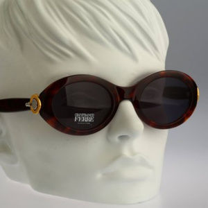 Vintage oval sunglasses, Gianfranco Ferre